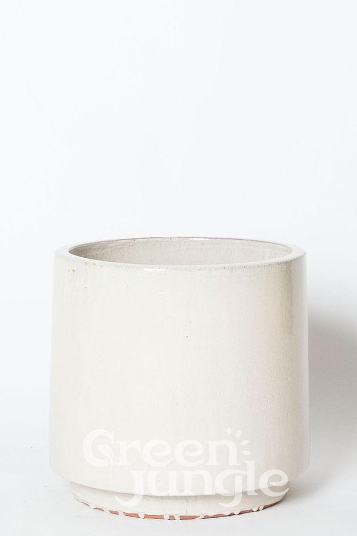 鉢カバー ビトロエンデカ クリーム(10号鉢)