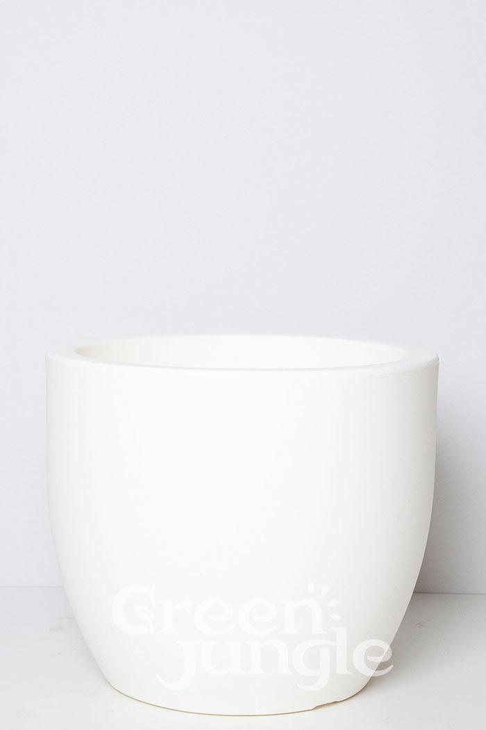 鉢カバー トンド ホワイト(10号鉢用)
