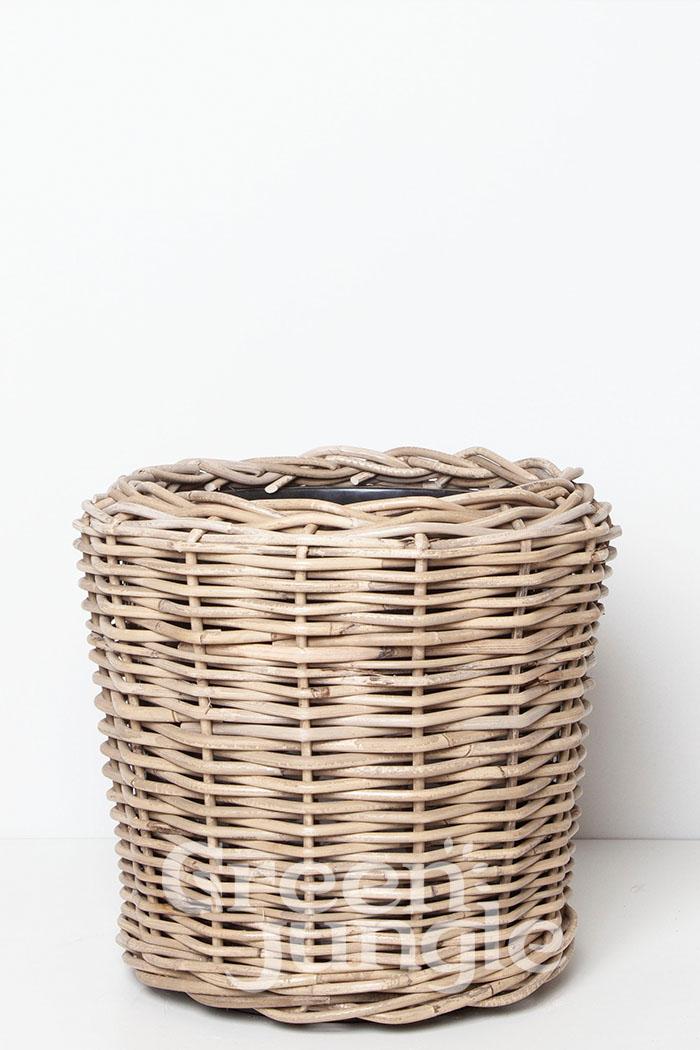 鉢カバー モンデリック ラタン(8号鉢用)