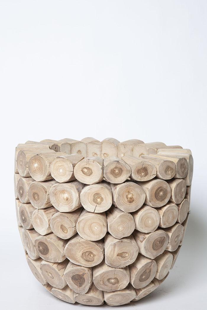 鉢カバー モザイクボール W4706(8号鉢)
