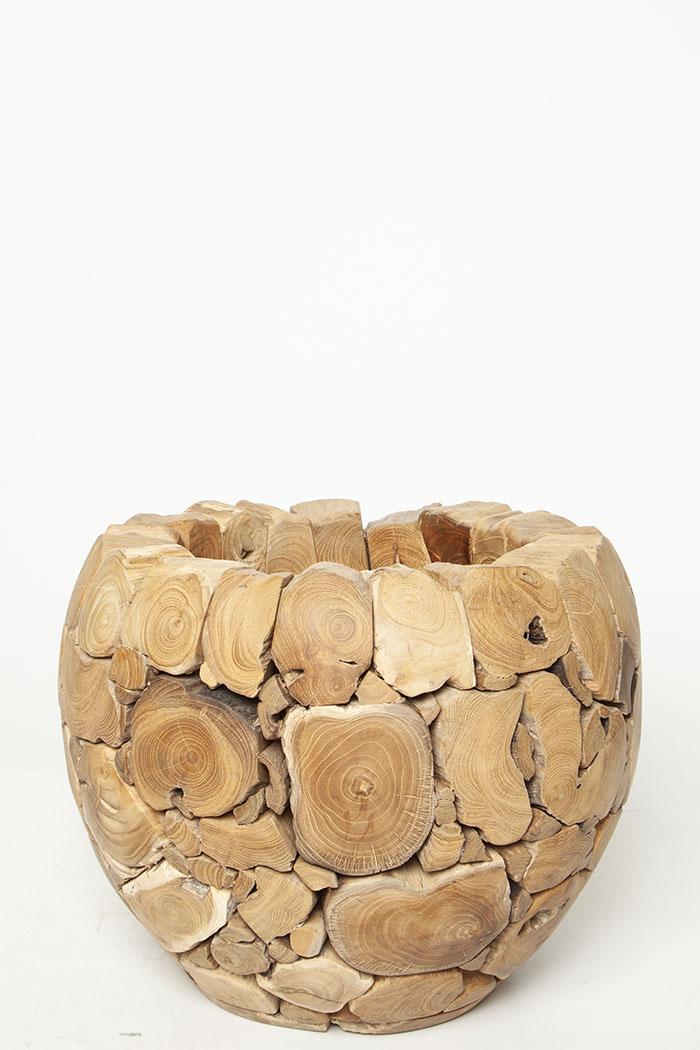 鉢カバー モザイクボール W4707(8号鉢)