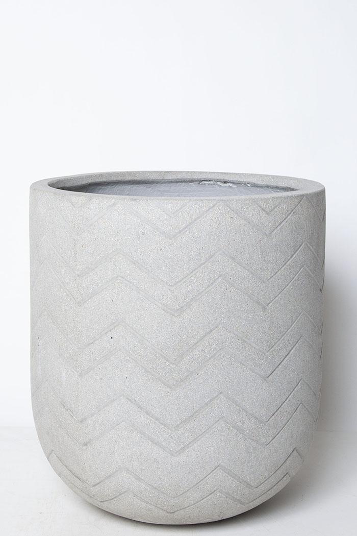 鉢カバー バルゴシェブロンライト(10号鉢)