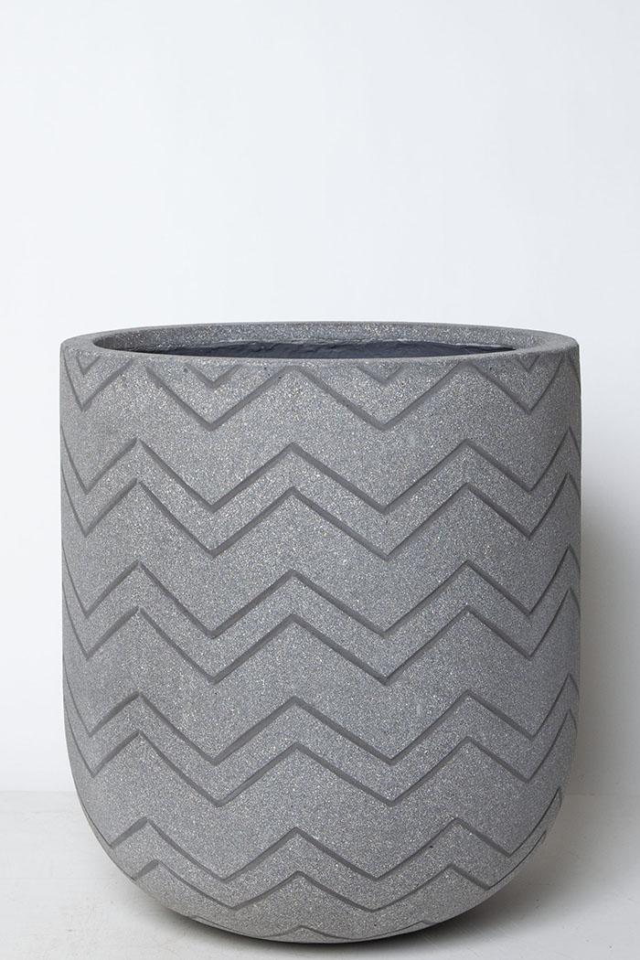 鉢カバー バルゴシェブロングレー(10号鉢)