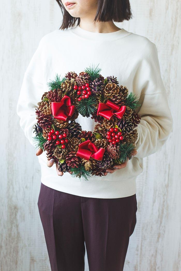 クリスマスリース M #513