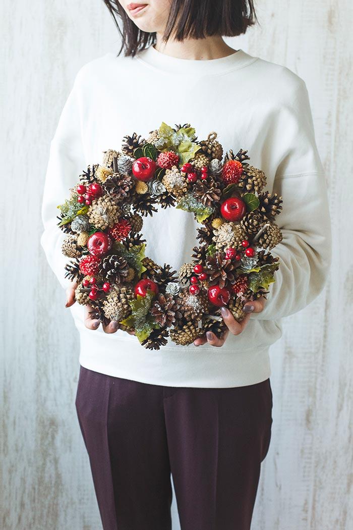 クリスマスリース M #515