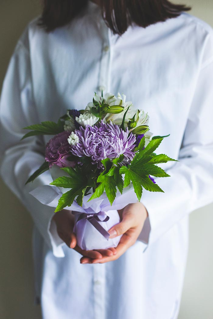 そのまま飾れる供花 花束 #721 size:60