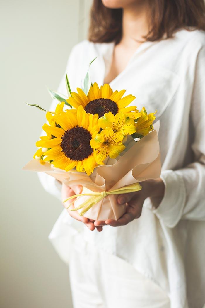 花束 そのまま飾れるブーケ #736 size:60