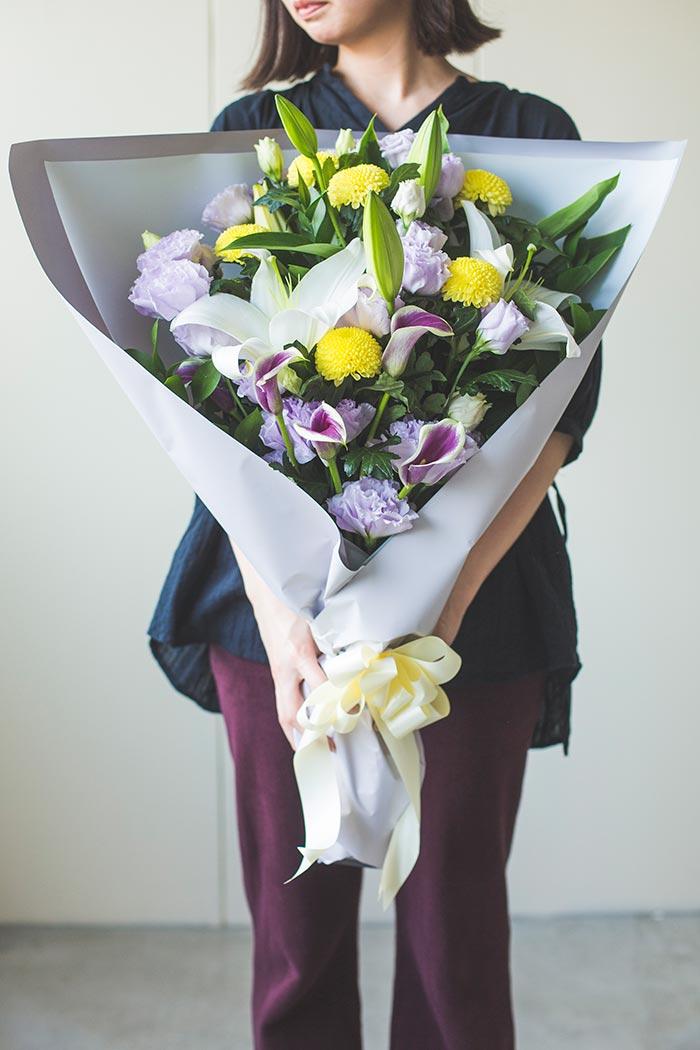 花束 お供え花・お悔みの供花 #762 size:140