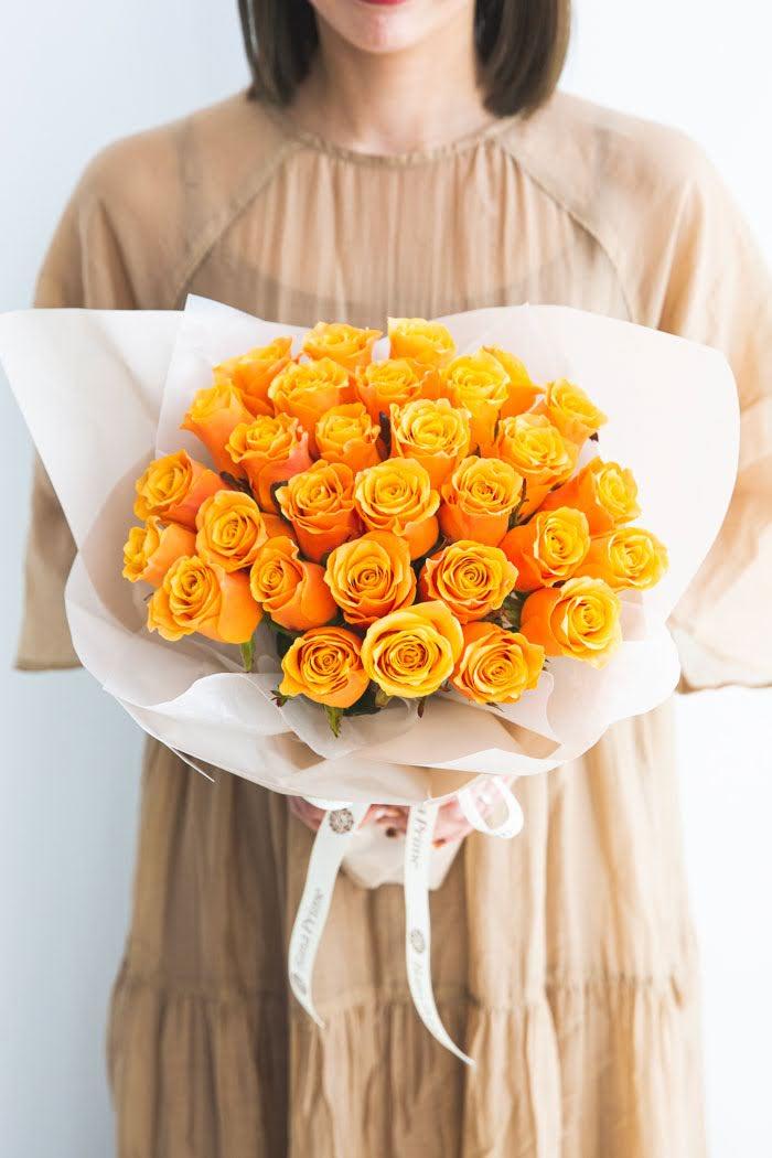 花束 ローズブーケ国産バラ 30本 #792 size:100
