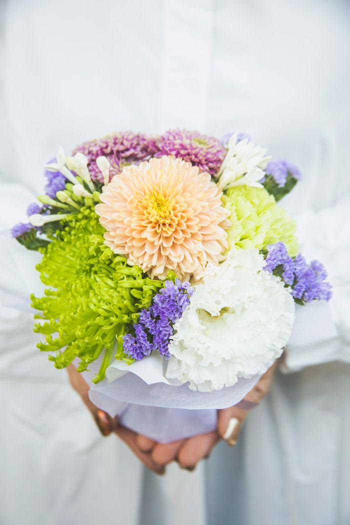 そのまま飾れる供花 花束 #826 size:60