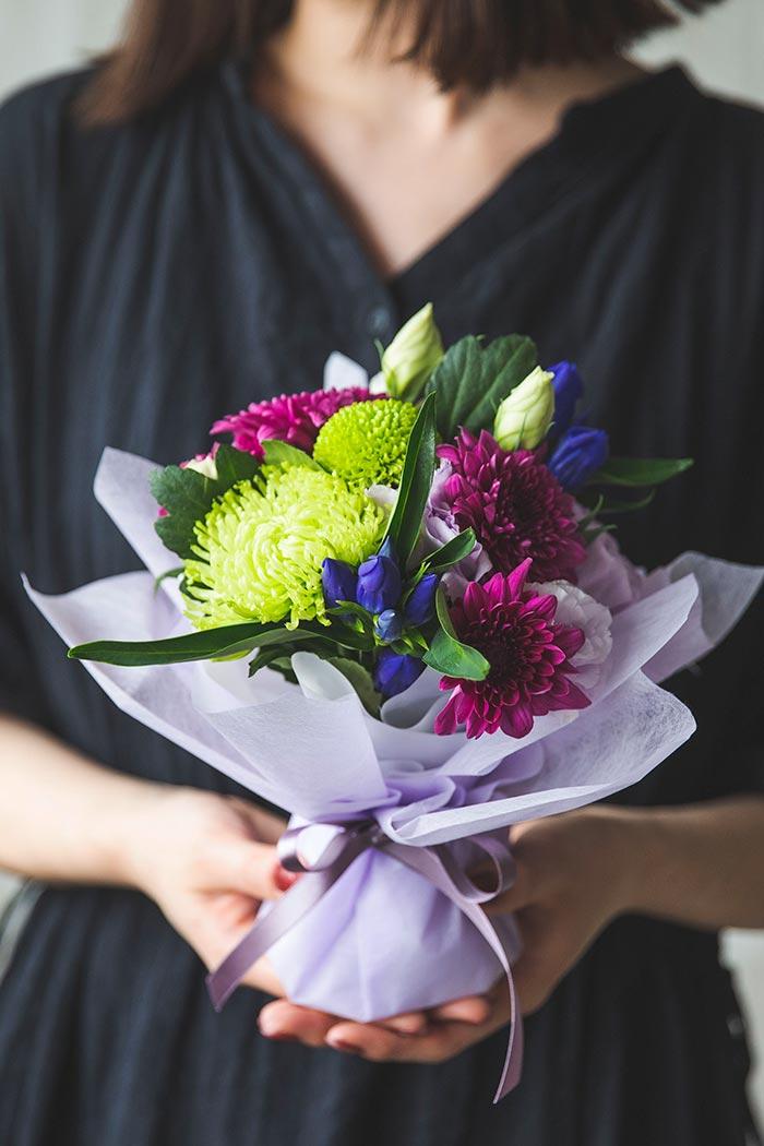 そのまま飾れる供花 花束 #827 size:60