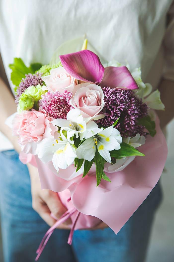 そのまま飾れる花束 #845 size:80
