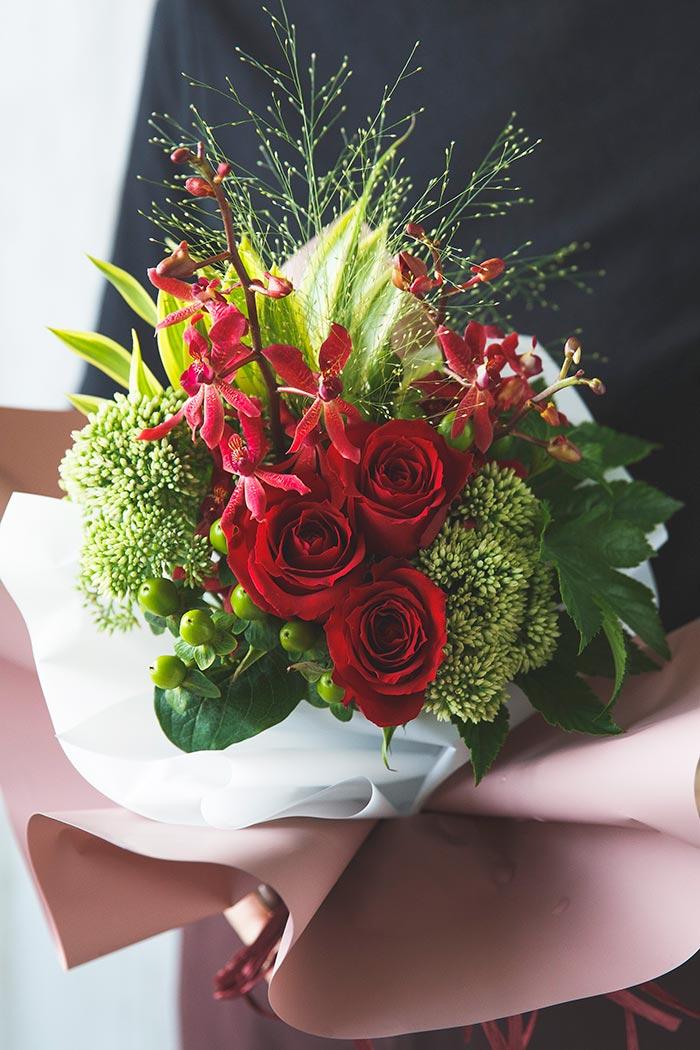 そのまま飾れる花束 #848 size:80