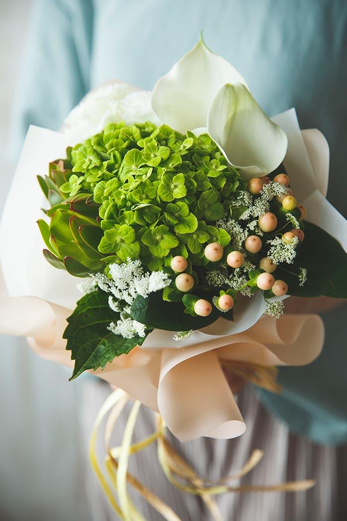 そのまま飾れる花束 #854 size:80