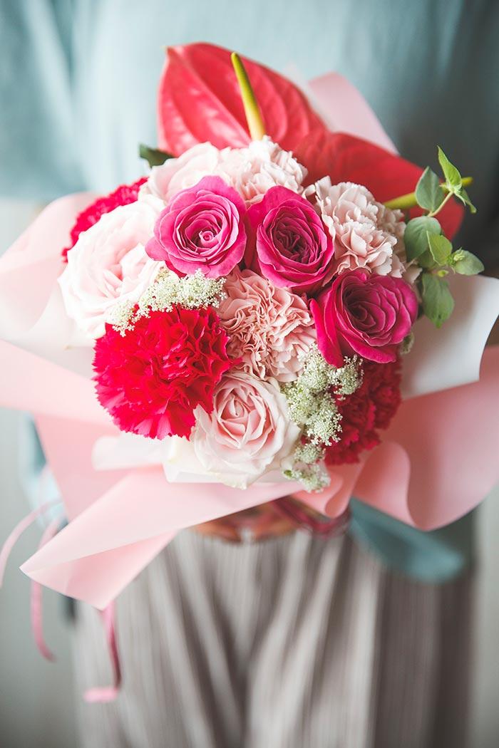 そのまま飾れる花束 #855 size:80