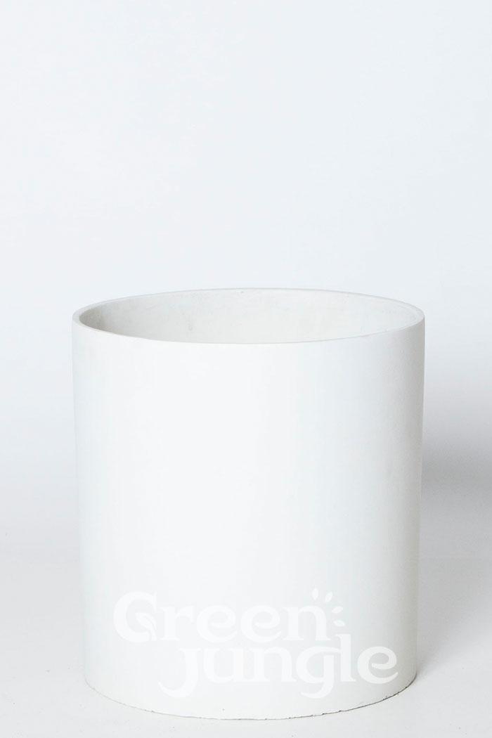 鉢カバー ホルストシリンダー ホワイト(8号鉢)