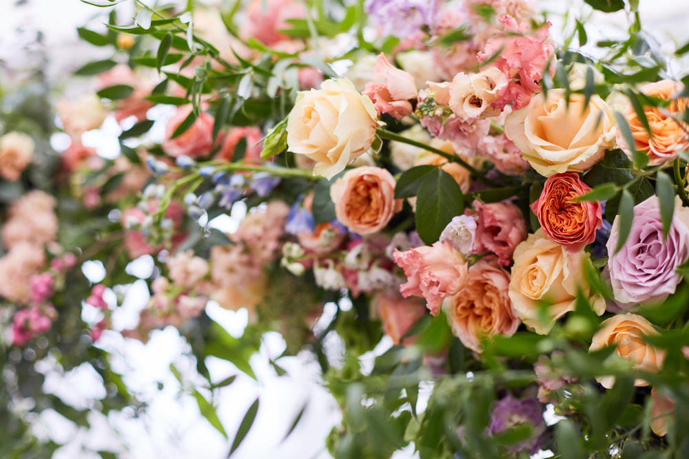おしゃれなスタンド花